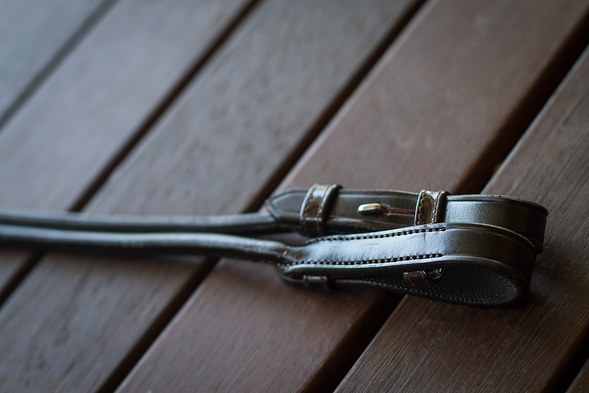 Rolled Leather Reins
